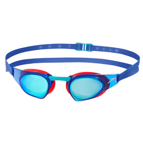 speedo Fastskin Prime Mirror Goggle red/blue